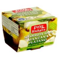 Compota de Manzana y Plátano Bio sin Azúcar