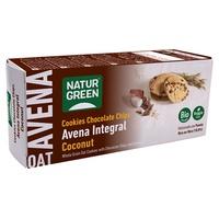 Biscuit à l'avoine à grains entiers avec noix de coco biologique