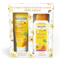 Summer baby pack - shampoo and shower gel + body milk