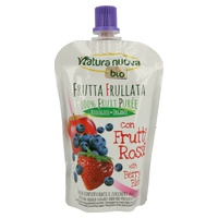 Apple, Blueberry and Strawberry Puree Doypack Bio