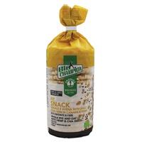 Biochampion Gallette Fit Snack Rye I Owies Pełnoziarnisty Z Nasionami Konopi I Chia