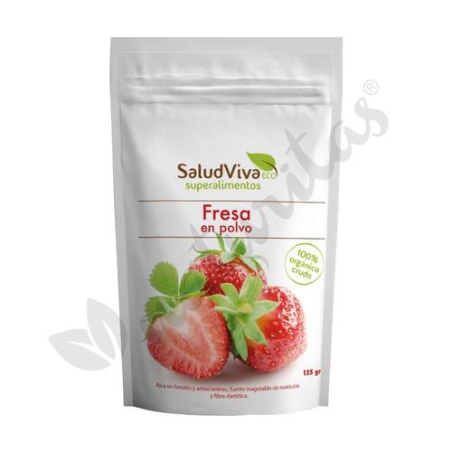 Fresa en Polvo Eco 125 gr de Salud Viva