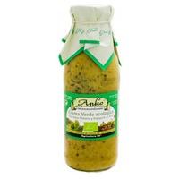 Crema Verde Ecológica con Alga Wakame y Espagueti de Mar