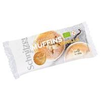 Muffins de baunilha sem glúten