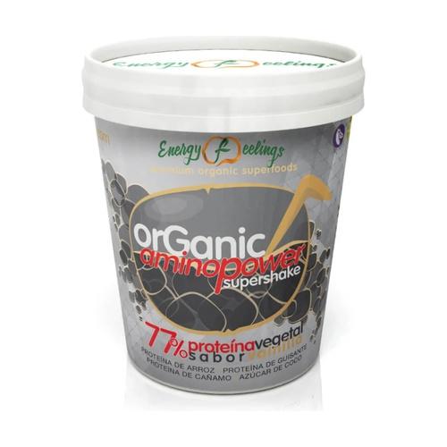 Organic Aminopower supershake 77% proteína vegetal Eco