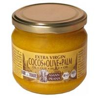 Aceite virgen extra de coco, oliva y palma roja Bio