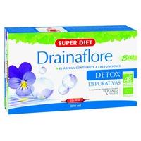 Drainaflore Bio 20 ampollas de 15 ml de Super Diet