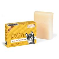 Jabón con leche de burra y miel Bio