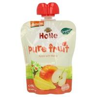 Smoothie aux pommes et à la mangue