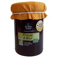 Confiture fraise et miel bio