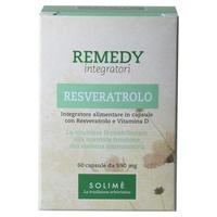 Remedy Resveratrol suplemento en cápsulas