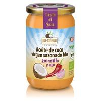 Aceite de Coco Guindilla y Ajo Bio
