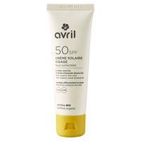 Protetor solar facial SPF 50 - certificado como orgânico