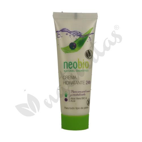 Crema Facial Hidratante Aloe Y Açai 24H