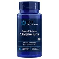 Magnésium à libération prolongée Life Extension