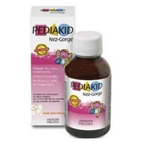 Pediakid nose-throat (honey and lemon flavor)
