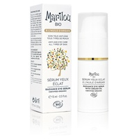 Radiant eye serum with organic argan oil