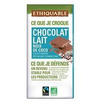 Chocolate con Leche Coco Bio