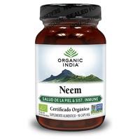 Neem 90 capsulas veganas de Organic India