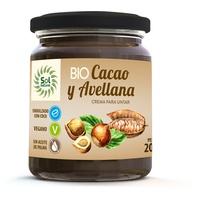 Kakao und Haselnusscreme