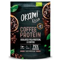 Protéine de pois et de café isolés