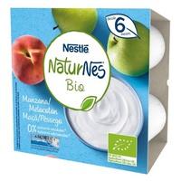 Nestlé Naturnes BIO Apfel-Pfirsich-Milchdessert
