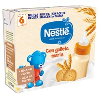 Milk and cereal pajamas 8 cereals with Maria biscuit double for + 6m
