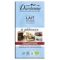 Tableta de chocolate con leche de tradición pastelera