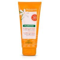 Polysianes gel crema solare sublime viso e corpo spf 30