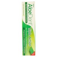 Dentifrice triple action Aloedent