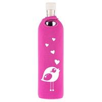 Botella Flaska Neo Design Pajarita Enamorada