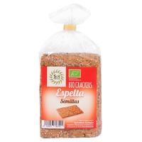 Crackers de Espelta Bio 200 gr de Solnatural