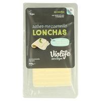 Lonchas Veganas Sabor Mozzarella