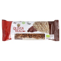 Barrita de Quinoa Real e Cacau Bio sem gluten