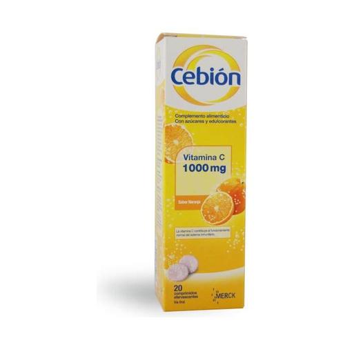 Cebion Efervescente (Sabor Naranja)