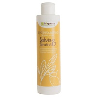 Champú líquido de salvia y limón (para cabello graso)