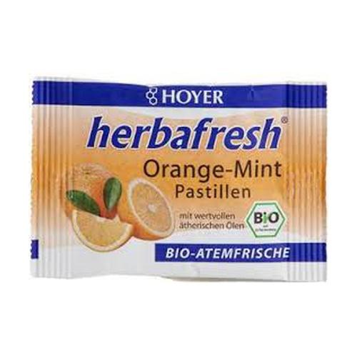 Pastillas de menta-naranja Herbafresh