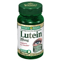 Luteína con Zeaxantina 20 Mg