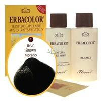 3 Erbacolor marrón oscuro