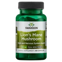 Full Spectrum Lion's Mane Mushroom, 500mg