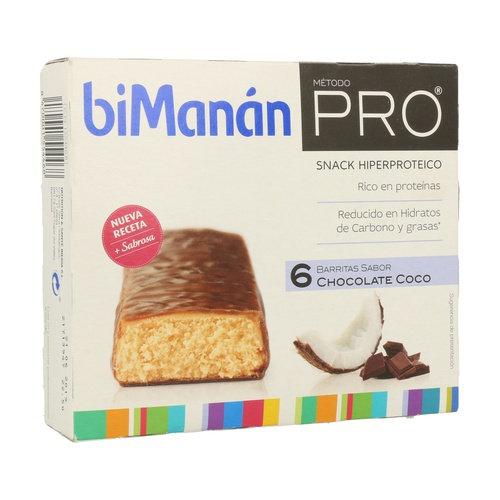 Barrita de Chocolate y Coco (Método Pro)