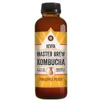 Master Brew Kombucha Pineapple Peach