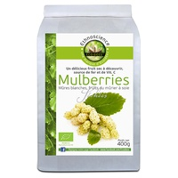 Mulberries, mûres blanches BIO