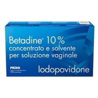 Betadine 10% Concentrate and Solvent for Vaginal Solution (OTC) SOP