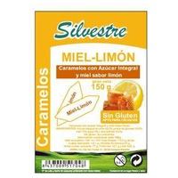 Caramelos de miel y limón con azúcar integral sin gluten