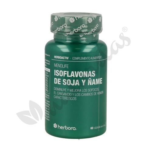 Menolife (Isoflavonas de Soja y Ñame) 60 cápsulas de Herbora