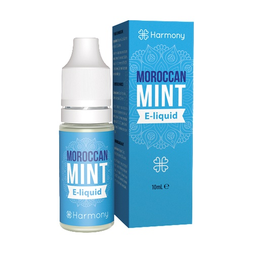 E-liquid Moroccan Mint 100mg CBD