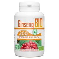 Organic red root ginseng 400 mg