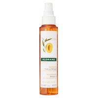 Óleo de manga Klorane após tratamento com shampoo