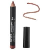 Matte lipstick pencil Argile Rose Certified organic